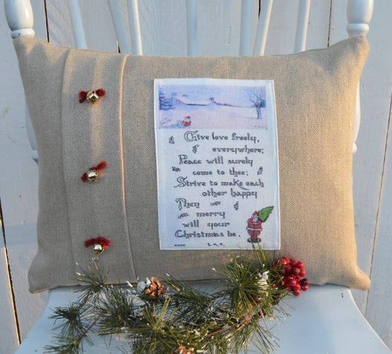 Christmas Season Pillow
