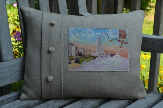 Los Angeles California Pillow