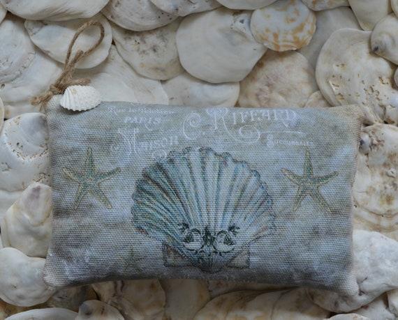 Blue Shell Lavender Sachet