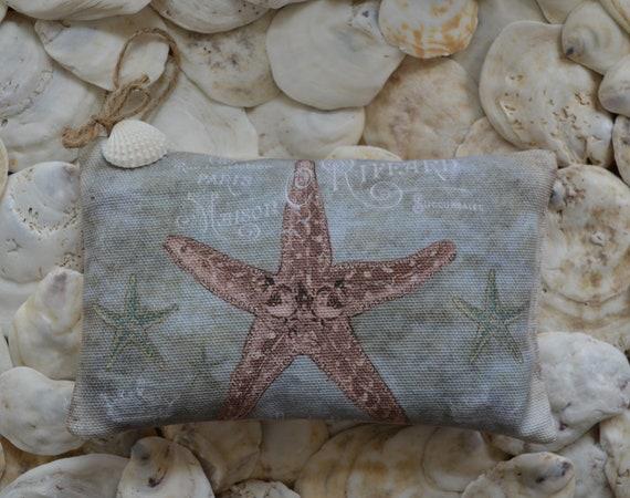 Coral Starfish Lavender Sachet