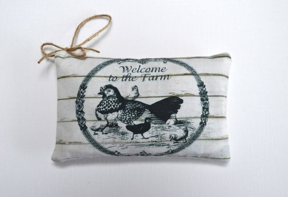 Lavender Welcome To The Farm Sachet