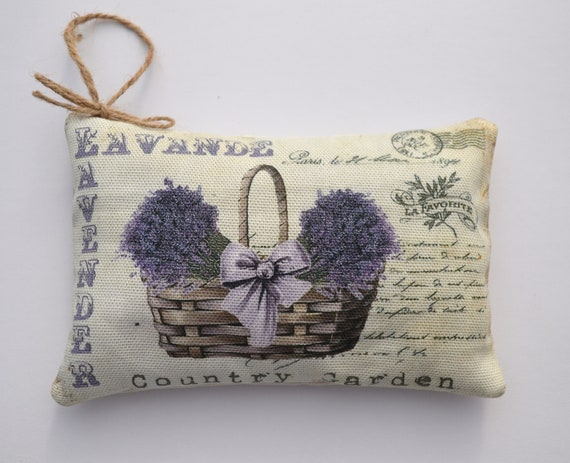 Lavender Basket Sachet