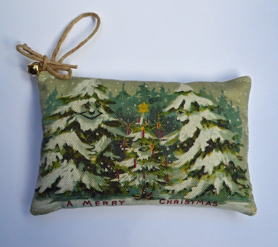 Balsam Sachet- Smiling Christmas Trees