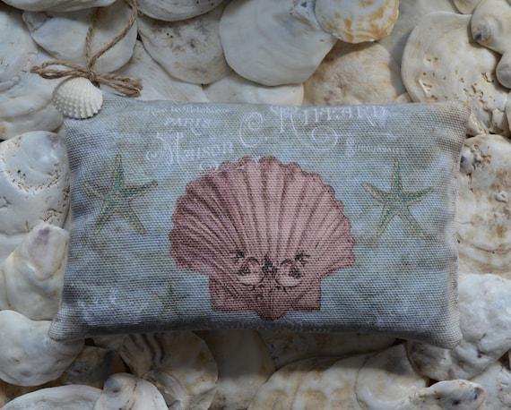 Coral Shell Lavender Sachet