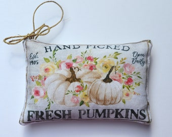 Fall Pumpkins Lavender Sachet