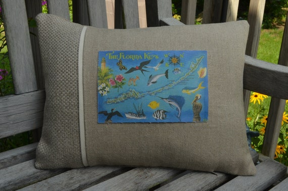 The Florida Keys Pillow