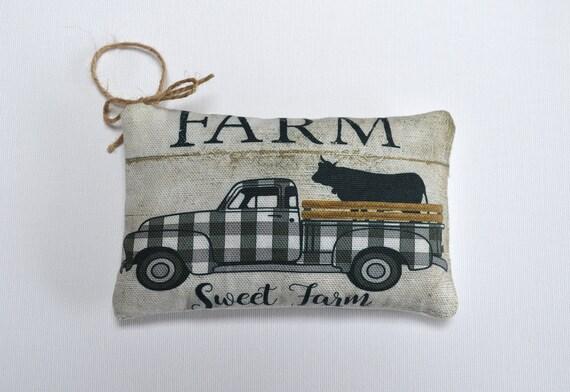 Lavender Farm Truck Sachet