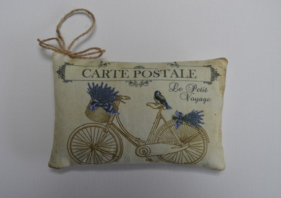 Lavender Bicycle Sachet