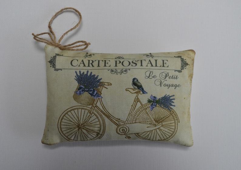 Lavender Bicycle Sachet