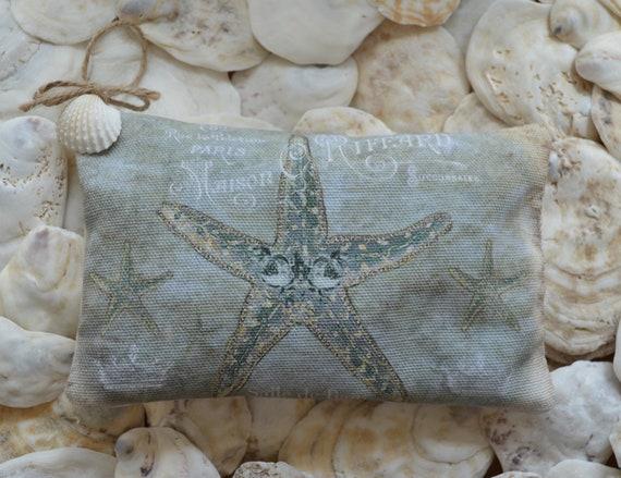 Blue Starfish Lavender Sachet