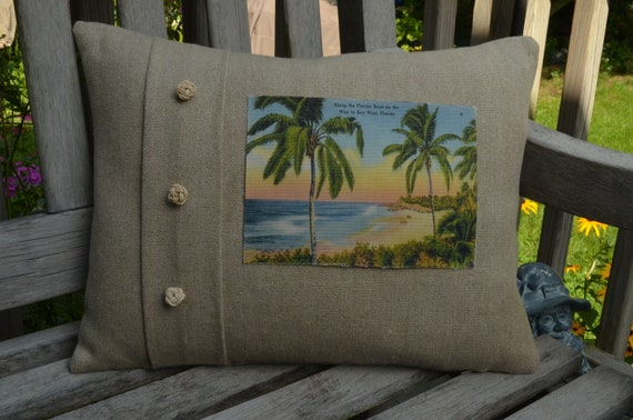 Along the Florida Keys Pillow