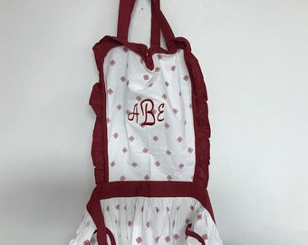 Personalized Heart Vintage Apron