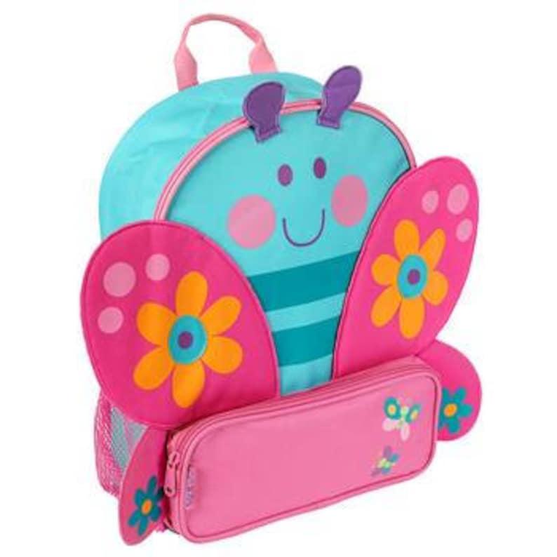 Personalized Stephen Joseph Sidekicks New Butterfly Backpack