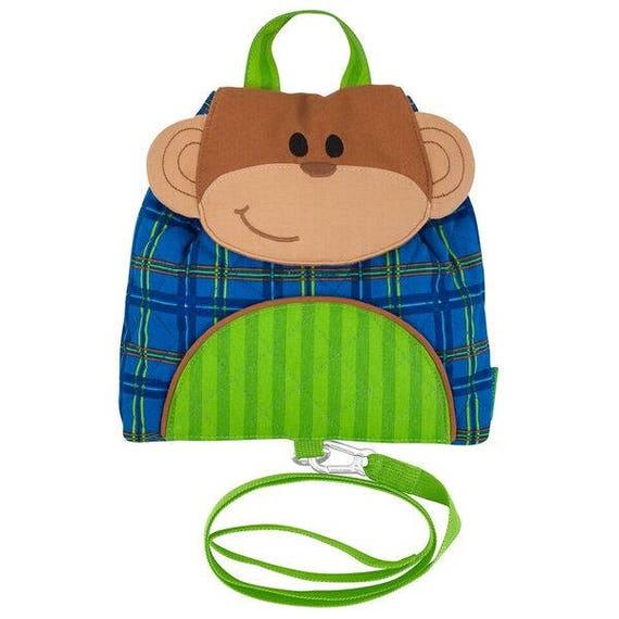Personalized Stephen Joseph Little Buddy Bag Monkey NEW