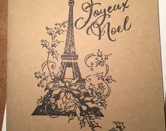 Carte de Noël Tassel Embelli Joyeux Noël Cracker Nièce