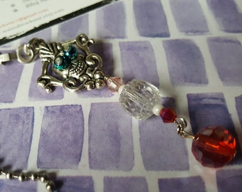 New Orleans VooDoo Theme  - LIGHT or Fan pull OR Rear view mirror Charm