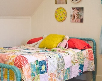 Memory Rag Quilt for Teens - Made with Clothing - Multiple Sizes
