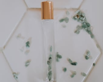 Square Roller with Green Aventurine, 10 mL