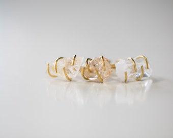 Quartz Wrap Rings