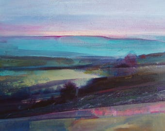 Light Through Mist Over Calder Valley - Limited Edition Archival Print