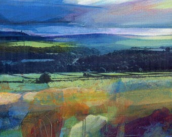 Stormy Sky over Stoodley. Limited Edition Archival Print.(size 1)