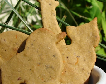 TRUEblueTREATS  • Grain Free Blueberry Treats for Dogs • All Natural • Vegan (6oz)