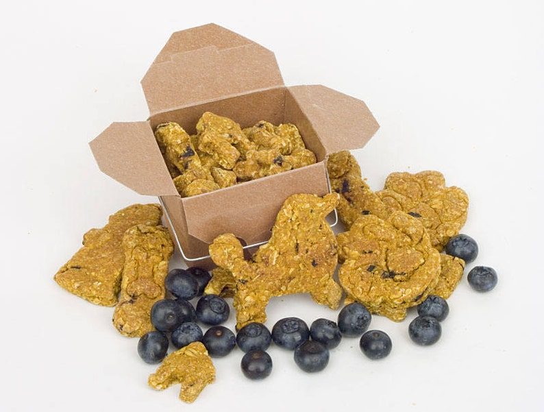 TRUEblueTREATS   Grain Free Blueberry Mini-Bites for Dogs  image 0