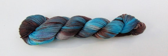 Mason- 100 cotton, Hand Dyed, Bulky Weight, Hand Painted, Variegated yarn
