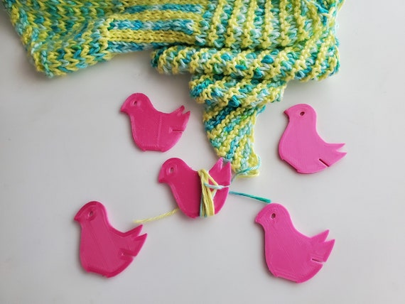 Birdie Yarn End Minder- Knitting Tools, Crochet Tools, End Minder