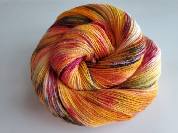 Cornucopia- 100% Organic Cotton, Sport Weight, Hand Dyed, Speckled