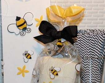 6 pack Bumble Bee SachetPartyFavor Gift Bags