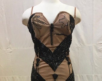 """1960s, 34"""" bust, """" show girl""""  gown"""