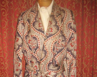 "1940's, 44"" chest, "" Clark Gable"" style man's robe"