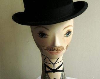Size 7 1900's Dashing Bowler Hat