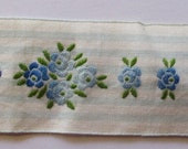Antique Ribbon French Cotton Trim Embroidered Darling 1920 39 s Dainty