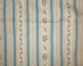 Antique French Fabric Ticking Pillow Doll