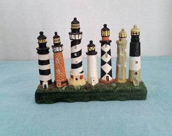 Ceramic Row of Lighthouses