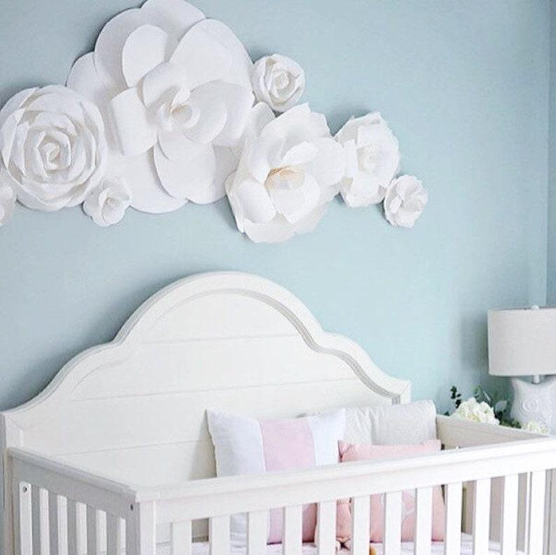 Dear Lili Package Paper Flowers Bedroom Wall Decor Nursery Wall Art