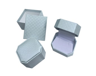 Elegant Jewelry Gift Boxes for Earrings Pendants and Rings