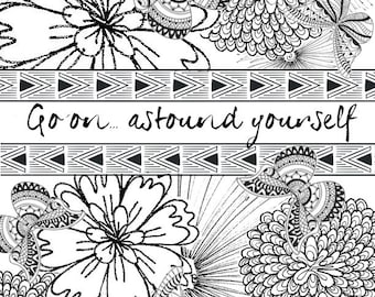 Coloring Pages Plan Etsy