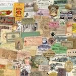 Mega Ephemera Pack instant download, printable, digital collage, diary / junk journal, altered art, mixed media, clipart