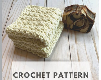 Crochet Washcloth Pattern DIY Facial Rounds Cotton Scrubbies Cotton - 2 for 1 - INSTANT DOWNLOAD