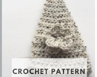 Crochet Headband Pattern - Flower Headband Crochet Pattern - Ear Warmer Pattern - INSTANT DOWNLOAD, Crochet Pattern, DIY