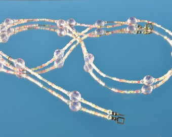 Pink Bubbles Belly Chain Bikini Belt