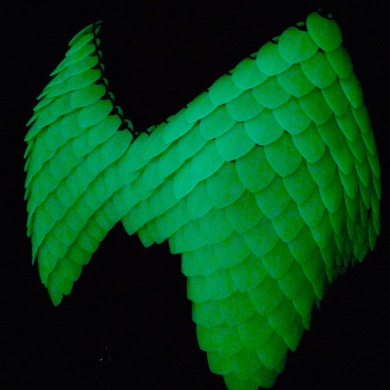 Glow in the Dark Dragon Scale Top