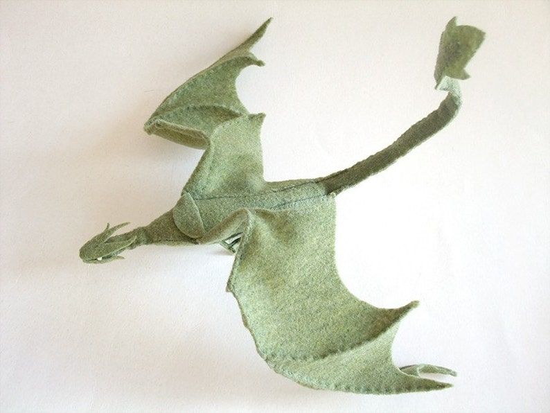 Plush Poseable Dragon PATTERN PDF file image 0