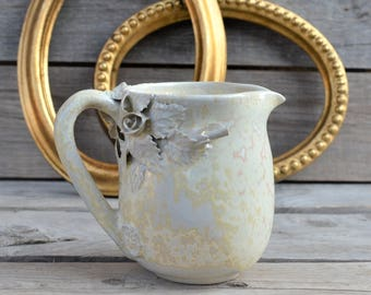 "Cream Milk pitcher ""Alice in Wonderland"" without dots - Stoneware"