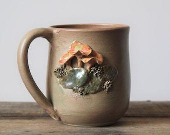 "Stoneware Tea Cup  ""Garitule"""