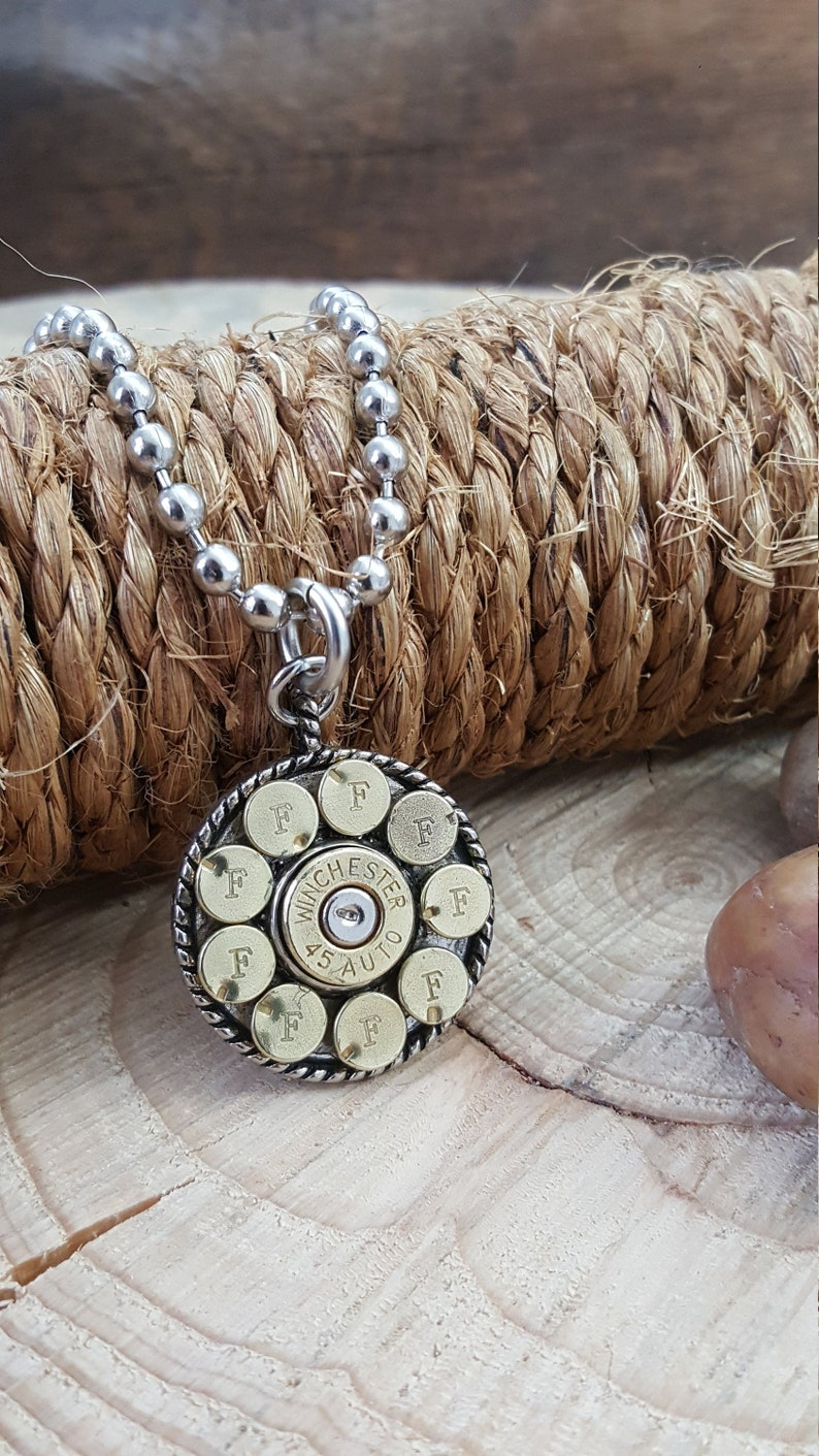 Bullet Jewelry  Bullet Necklace  Shooting Related  Jewelry image 0