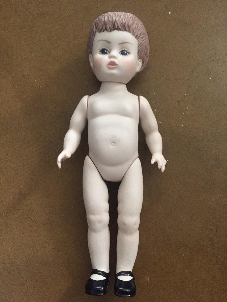 Puppen & Zubehör art doll ooak creepy cute baby antique porcelain cup sitter